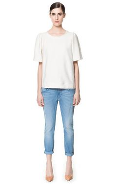 Image 1 of TOMBOY FIT JEANS from Zara