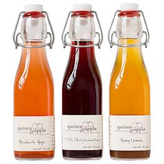 Enjoy a bottle of Rhubarb Hops, Tart Cherry Grenadine and Honey Lemon in this delicious collection from syrup aficionados and...