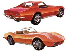 1973 Corvette.  Although the front bumper got the urethane cover treatment, for 1973 only the rear bumpers were still chrome.  1973 Chevrolet Corvette A new hood made an appearance in 1973 and the new design eliminated the need for the moveable panel that was raised to allow the windshield wipers to do their thing. The mechanism was troublesome so it probably wasn't missed.