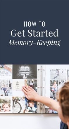 How to get started memory keeping - a detailed guide for managing your memories Memory Journal, Memory Album, Life Journal, Journal Cards, Journal Quotes, Journal Ideas, Photo Memories, Family Memories, Making Memories