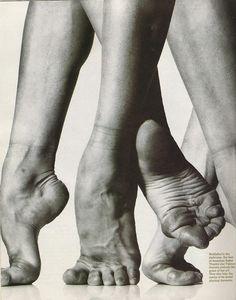 Dancers feet. Yes.