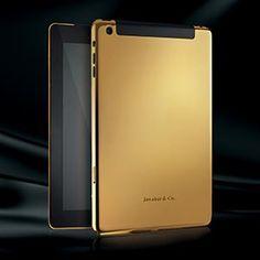 iPad gold #iPad #Apple #technology #luxury #love