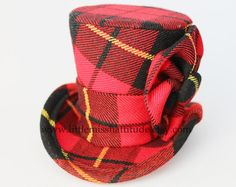 Scottish Mini Top Hat  Scottish Wedding  by LittleMissHattitude, $45.00