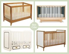 Best Baby Cribs for Any Budget: From Cheap to Moderate to Splurge — Apartment Therapy Buying Guide (Apartment Therapy Main) Baby Cribs For Twins, Twin Cribs, Best Baby Cribs, Best Crib, Apartment Therapy, Crib Spring, Girls Apartment, Budget, Baby Bedroom