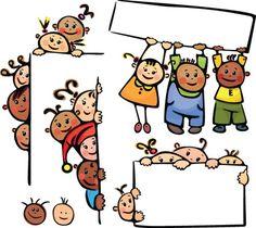 Cartoon cute Kids vector 05