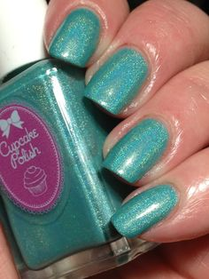 Mint Holographic Cupcake Polish What In Carnation?