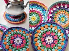 Pirapire, Posapavas y agarradera al crochet Ultima MODA!!! $$$ Especial