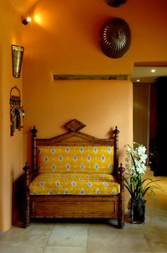 Francesca's Paints - Walnut Cottage.  Love the cheery colours.