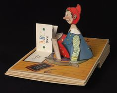 The Pop-up Pinocchio, pop-up book, Harold Lentz, 1932.