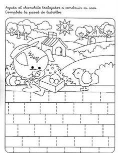 Çizgi çalışma Preschool Writing, Fine Motor, Worksheets, Snoopy, Paper Crafts, Kids Rugs, Album, Illustration, Fictional Characters
