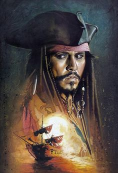 Pirates of the Caribbean. Jack Sparrow.
