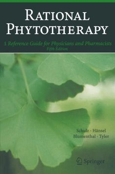 Rational Phytotherapy: A Reference Guide for Physicians and Pharmacists #book #health http://www.healthbooksshop.com/rational-phytotherapy-a-reference-guide-for-physicians-and-pharmacists-4/ All practitioners and pharmacists interested in treatment with herbal remedies should have this book at their disposal. It is the definitive practice-oriented introduction – now in its fifth edition –to phytotherapy. Methodically classified by organic systems and fields of application,the text..
