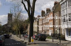 HOUSING LONDON HOMES RESIDENTIAL... London Property, Multi Story Building, Street View, Homes, Houses, Home, At Home