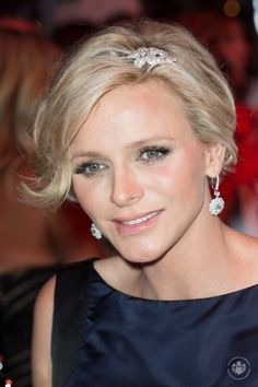Princess Charlene of Monaco attends the 66th Monaco Red Cross Ball 8-1-14