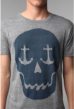 I'm nautical and I like Skulls..although made for a man, it would look good on this woman.