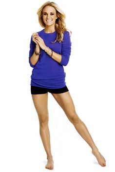 Carrie's leg workout.