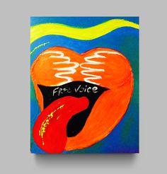 Free Voice. Oil painting. 40x50 cm http://www.designforpeople.info/#shop# www.behance.net/alexandra-chudinova