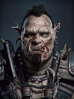 Orc by Reza Abedi | Creatures | 3D | CGSociety