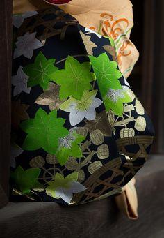 だらりの帯. kimono sash belt. Kyoto