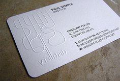 エンボスも素晴らしいのですが、この名刺からの気づきはコレ! | 名刺の達人が発信!「名刺のアイデア」メモ帳ブログ。