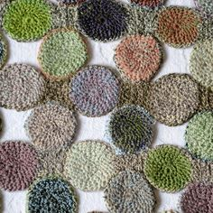 """Hand crocheted Sophie Digard's scarf """"pois gourmands"""""""