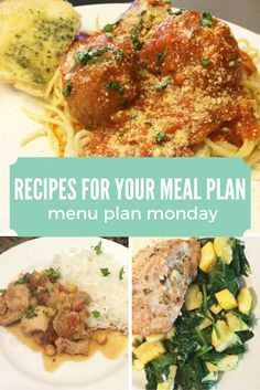 Recipes for Your Meal Plan this week: The best Spaghetti and Meatballs ...