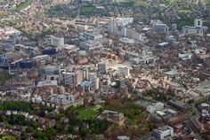 Nottingham city centre. This was home for almost a year.