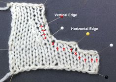 Arenda Holladay: Picking Up Stitches on a Curved Edge