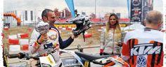 Alla prima gara di moto elettriche non potevamo mancare. Ma noi le cose le facciamo solamente nel migliore dei modi. Quindi non potevamo limitarci partecipare ma ci siamo tolti anche lo sfizio di vincere con la KTM Freeride E-XC !! Grande soddisfazione ma soprattutto tanto divertimento  La Scuderia Milani vince anche nel motocross elettrico http://wp.me/p32D4e-YG  #KTM #MilaniKTM #KTMFreerideE #Eicma2014