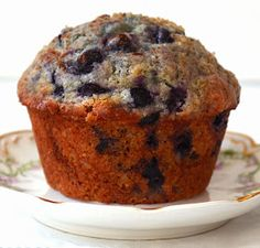 Sew French: Incredibly Moist Blueberry Muffins
