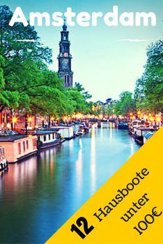 Ihr wollt Amsterdam so richtig authentisch auf einem Hausboot erleben? Im verlinkten Artikel habe ich euch einmal 12 Hausboote im Stadtgebiet herausgesucht, die pro Nacht nicht mehr als 100€ kosten. Zum Artikel --> http://www.reiseuhu.de/?p=375 #Amsterdam #Hausboot