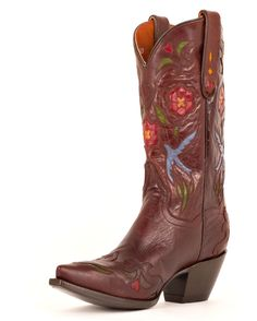 I really want these...sigh.   Dan Post Women's Blue Bird Boots - Chocolate/Blue Bird