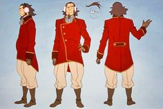 avatar the legend of korra bumi - Google Search
