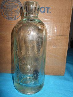 Antique Kansas City Blob Top Bottle Kansas City, Mo