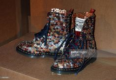 News Photo : Levi Strauss & Co. Doc Martens during Dr. Martens...
