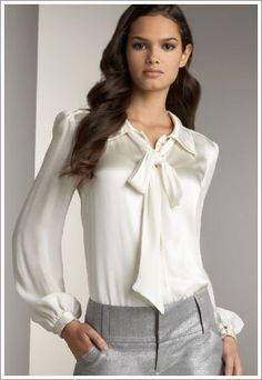 Alice + Olivia Bow Tie Blouse