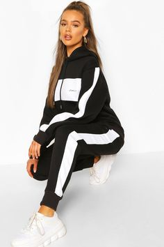 Cute Swag Outfits, Sporty Outfits, Fashion Outfits, Girly Outfits, Adidas Outfits For Women, Trendy Outfits, Jogging, Girls Tracksuit, Adidas Tracksuit Women