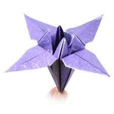 Hasil gambar untuk origami flower