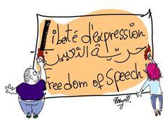 Charlie Hebdo: les dessinateurs marocains et tunisiens rendent hommage aux victimes #jesuischarlie #charliehebdo