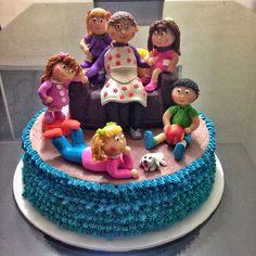 La abuelita y sus nietos  #cake
