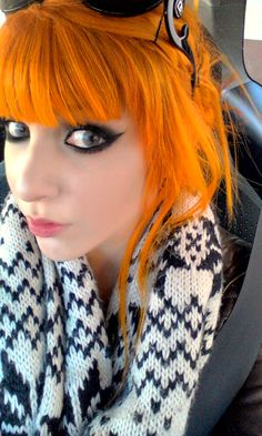 Bright Orange Hair I wish I could pull this off
