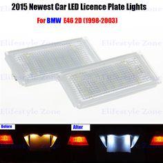 $11.72 (Buy here: https://alitems.com/g/1e8d114494ebda23ff8b16525dc3e8/?i=5&ulp=https%3A%2F%2Fwww.aliexpress.com%2Fitem%2F2-x-LED-Number-License-Plate-Lamps-OBC-Error-Free-18-LED-For-BMW-E46-2D%2F32279455144.html ) 2 x LED Number License Plate Lamps OBC Error Free 18 LED For BMW E46 2D 1998-2003 for just $11.72