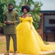 Black is Beautiful Black Love Couples, Black Love Art, My Black Is Beautiful, Cute Couples, Beautiful People, Yellow Wedding Dress, Wedding Dresses, Yellow Gown, Prom Dresses