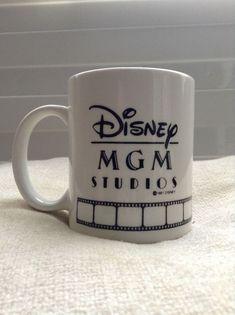0bd60db6d7d Vintage Disney MGM Studios Mickey Mouse Coffee Tea Mug 1987 #Disney #Mickey  Mouse #