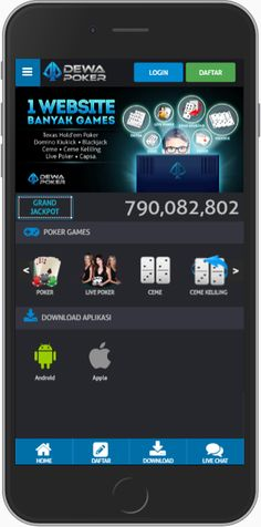 New versi mobile DEWAPOKER.. silahkan mencoba dan bisa di DOWNLOAD lo aplikasinya .. Lebih Praktis dan Mudah Digunakan.