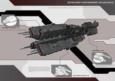 CapitalShip - Dreadnought - Class Atlas by Lock-Mar.deviantart.com on @deviantART