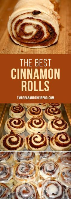 The BEST cinnamon ro The BEST cinnamon roll recipe! The BEST cinnamon ro The BEST cinnamon roll recipe! They are PERFECT! They are great for breakfast brunch and holiday Best Cinnamon Roll Recipe, Best Cinnamon Rolls, Cinnamon Recipes, Baking Recipes, Dessert Recipes, Breakfast Recipes, Icing For Cinnamon Rolls, Easy Homemade Cinnamon Rolls, Gastronomia