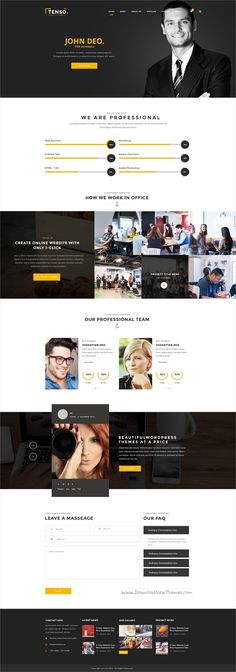 Tenso is a minimal, creative #PSD template for stunning business #office websites with 14+ multipurpose homepage layouts and 75+ organized PSD pages download now➩ https://themeforest.net/item/tenso-tensilon-creative-multipurpose-template/15314429?ref=Datasata