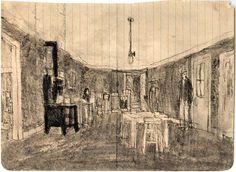 James Castle - inspiration for Georgina Harding's wonderful novel, Painter of Silence