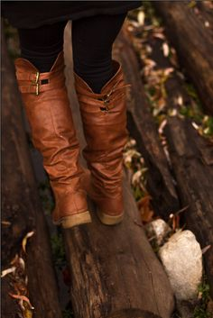 Knee High Boots, Nectar Clothing. Woodsy Adventures